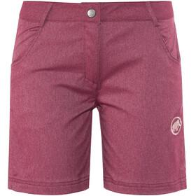 Mammut Massone Shorts Women red